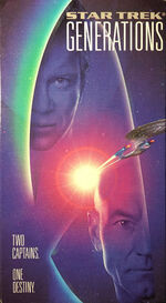 Generations US reissue VHS cover