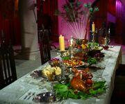 Korob's dinner table