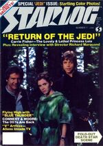 Starlog issue 071 cover