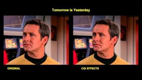 "TOS ""Tomorrow is yesterday"" - Demain sera hier"" - comparaison des effets spéciaux"