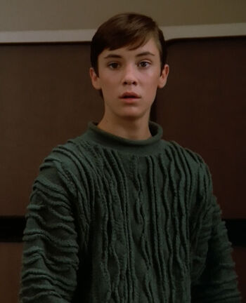 "Wesley Crusher (<a href=""/wiki/2364"" title=""2364"">2364</a>)"