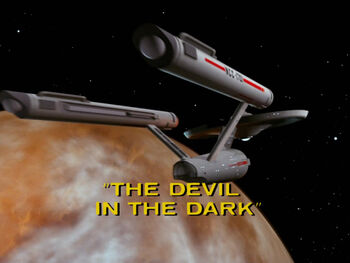 The Devil in the Dark title card
