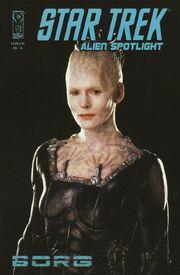 Alien Spotlight Borg cover RIA