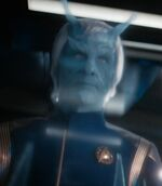 Andorian admiral, 2257