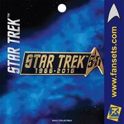FanSets Star Trek 50th Anniversary pin