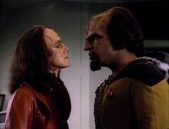 K'Ehleyr y Worf