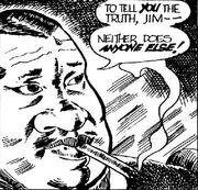 Smoking man comic