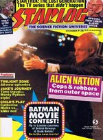 Starlog issue 136 cover
