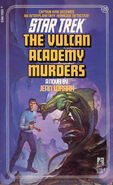 The Vulcan Academy Murders 1988 reprint cover