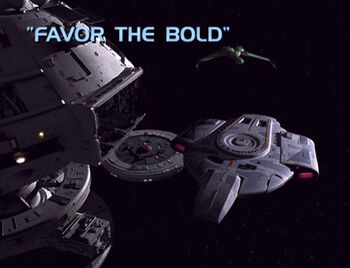 Favor the Bold title card