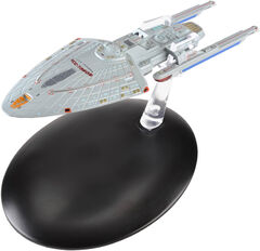 Eaglemoss USS Voyager concept