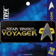 FanSets Star Trek Voyager logo pin