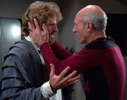 Picard calming Riva