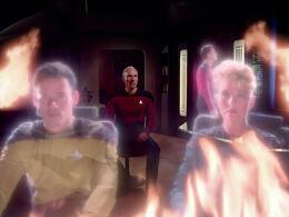 Picard hallucinates the Battle of Maxia