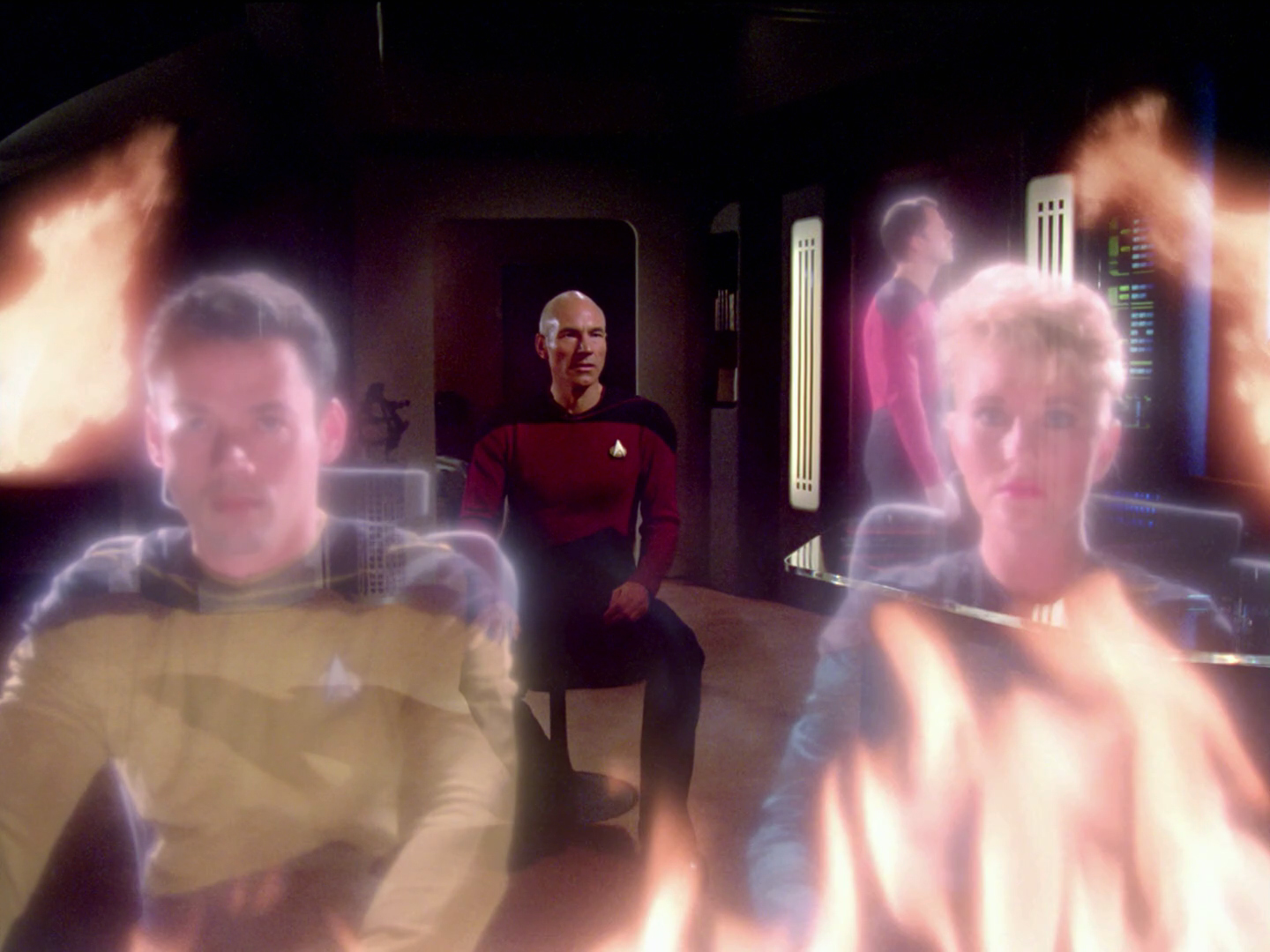 Image result for tng the battle