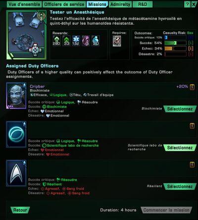 STO Doff missions