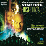 Star Trek First Contact expanded soundtrack cover