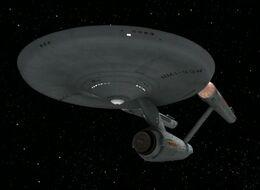 USS Enterprise (NCC-1701), remastered