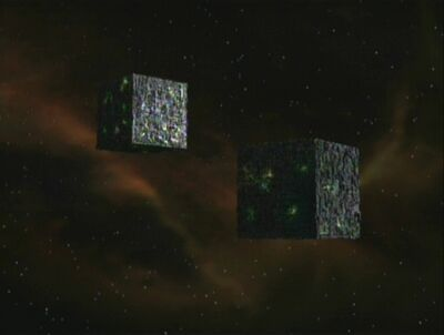 Zwei Borg-Kuben
