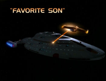 Favorite Son title card