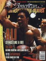 American Cinematographer cover November 2001