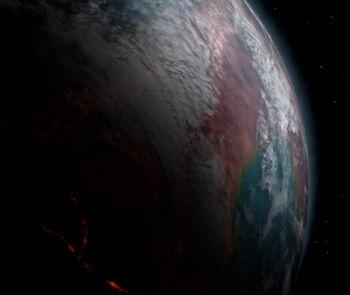 Benev Selec from orbit
