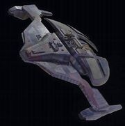 Jem'Hadar fighter studio model