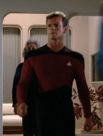 Lieutenant Longo in 2364
