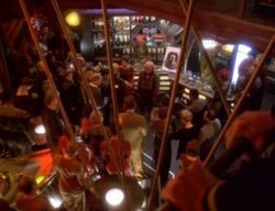 Quark's Bar, Who mourns for Morn 1