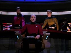 Riker Picard Yar Yesterday's Enterprise