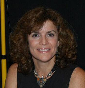 Robin Curtis at the 2005 Las Vegas Star Trek Convention