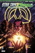 Spectrum War, issue 2 cover S