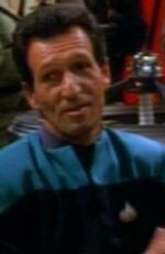 Human DS9 medical officer 1