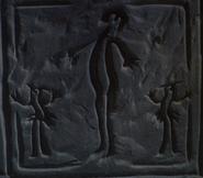 Humanoid carvings