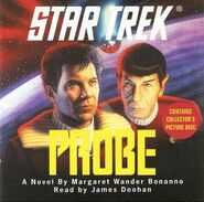 Probe audiobook cover, CD edition