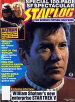 Starlog issue 144 cover