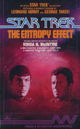 The Entropy Effect audiobook cover, US cassette edition