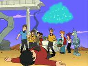 Futurama, Where No Fan Has Gone Before, Welshie dead