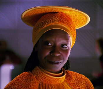 "Guinan in Ten Forward (<a href=""/wiki/2365"" title=""2365"">2365</a>)"