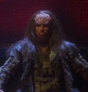 Klingon council member, broken bow
