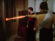 Phasers have no effect
