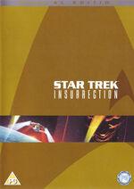 Star Trek Insurrection Special Edition DVD cover (Region 2)
