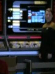 Sternenflottenoffizier Technik Sicherheit 1 USS Voyager 2375