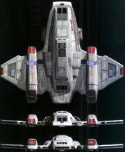 Aeroshutlle CGI model