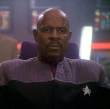 "Captain Benjamin Sisko (<a href=""/wiki/2375"" title=""2375"">2375</a>)"