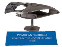 FASA-Rawcliffe RF795 RPG miniature Romulan Warbird 1992