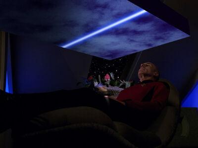 Picard wird gescannt