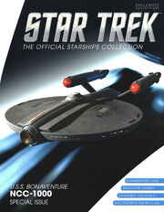 Star Trek Official Starships Collection USS Bonaventure cover