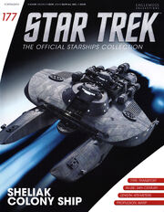 Star Trek Official Starships Collection issue 177