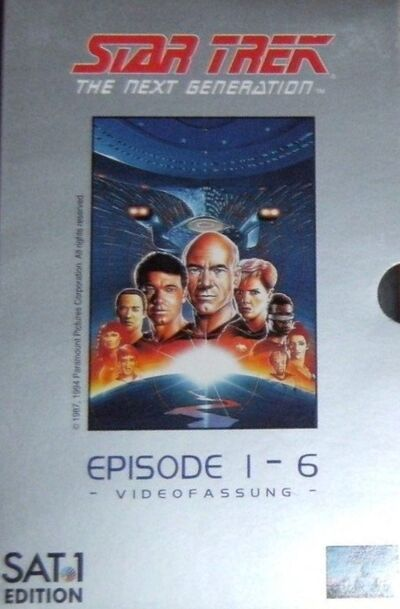 Star Trek The Next Generation – Videofassung (Episode 1 - 6)